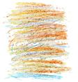 crayon texture7 vector image vector image