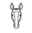 Horse head stylization