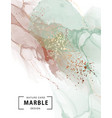 Marble ink watercolor paint pastel with gold foil