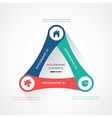 Modern infographics business vector image