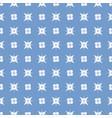 pattern 0067 flower and star vector image vector image