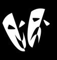 stage masks vector image