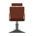 barber chair shop barbershop salon hair vector image