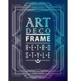 Art deco geometric vector image vector image