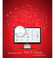 Business Solution and Idea Conceptual background vector image vector image