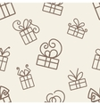 Gifts Pattern vector image
