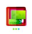 Square web design boxes vector image vector image