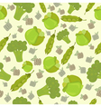 Eco bio broccoli vector image