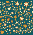 many stars seamless print vector image