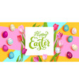 multicolored festive card vector image vector image