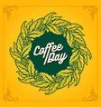 coffee day premium mandala plants vector image