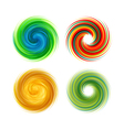 Dynamic Flow Swirl Background vector image vector image