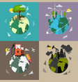 environmental protection backgrounds vector image