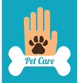 Pet care design vector image vector image