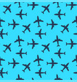 plane transport seamless pattern original flat vector image