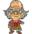 Scrooge vector image