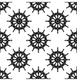 Seamless pattern with helms vector image