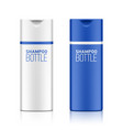 shampoo cosmetic bottle template for your design vector image vector image