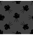 Videocamera web icon flat design Seamless gray vector image