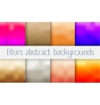 Abstract blur background vector image