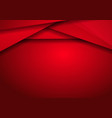 background metallic modern with red metal banner vector image vector image