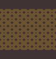 geometric seamless art deco style rhombus vector image