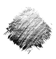 Monochrome grunge stain vector image