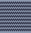 pattern in zigzag classic chevron vector image vector image