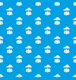 rain weather pattern seamless blue vector image