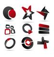 3d logo forms