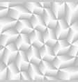 abstract gray twist cube background vector image vector image