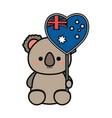 baby koala vector image