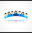 Business Teamwork concept stock vector image