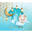 eid al-adha banner vector image