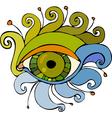 Eye Isolated vector image