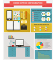 Freelance infographic vector image