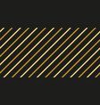 gold black strip line seamles pattern vector image vector image