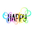happy easter religious christian spring vector image vector image