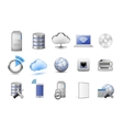 Network devices and computing icons vector | Price: 1 Credit (USD $1)