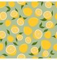 pattern lemons vector image