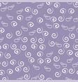 swirls seamless vector image
