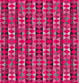 Colorful mosaic background Pink triangle wallpaper vector image