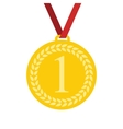 Art Flat Medal Icon for Web Medal icon app Medal vector image vector image