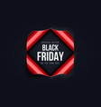 black friday sale background 2 vector image vector image