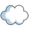 cloud sky baby vector image