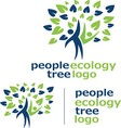 people ecology tree logo 10 vector image vector image