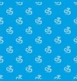 python snake pattern seamless blue vector image vector image