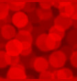 red bokeh seamless pattern background design vector image vector image