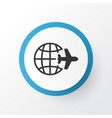 world travel icon symbol premium quality isolated vector image vector image