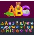 abc animal letters for school or kindergarten